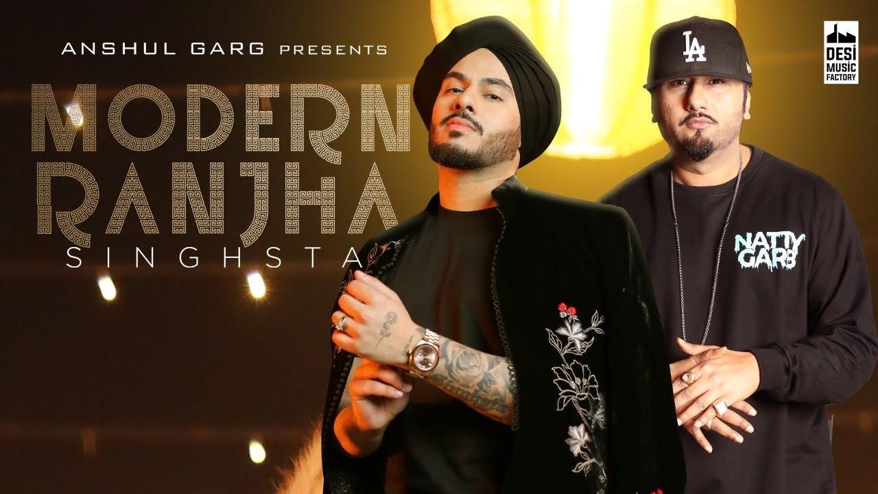 Modern Ranjha Hindi Lyrics – Singhsta