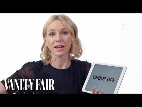 Naomi Watts Teaches You Australian and British Slang | Vanity Fair