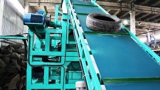 Оборудование для переработки шин в резиновую крошку, линии для переработки шин, переработка покрышек