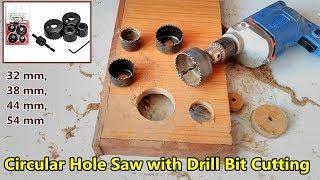 Circular Saw Drill Bit Cutter( 32mm, 38mm, 44mm, 54mm) | Tools series -1 | POWER GEN