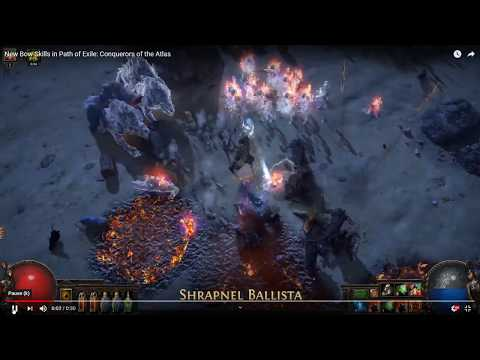 Path of Exile - Discussion of New Bow Skills in 3.9 - Conquerors of the Atlas
