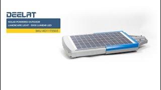 Solar Powered Outdoor Landscape Light - 3000 Lumens LED     SKU #D1173503