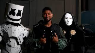Marshmello x Imanbek (Ft. Usher) - Too Much (BTS Video)