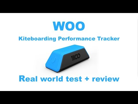 WOO kiteboarding performance tracker review and testing
