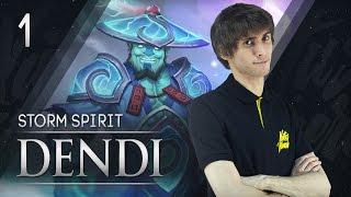 Na`Vi Dendi - Storm Spirit vol.1
