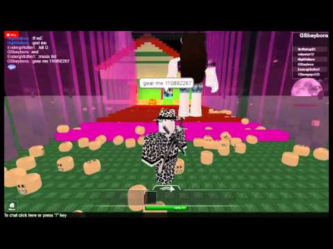Roblox Gear Codes (Dual Darkheart and artemis bow and r-orb