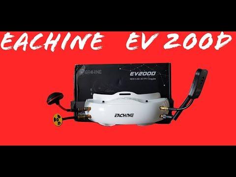 Review en Español EV200D las Fatshark killer