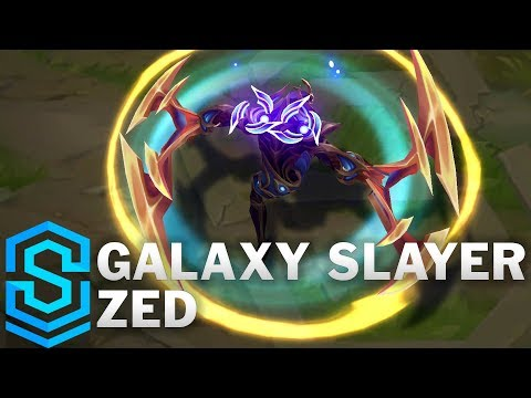 Galaxy Slayer Zed Skin Spotlight - League of Legends