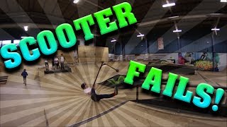 SCOOTER FAIL COMPILATION 2017