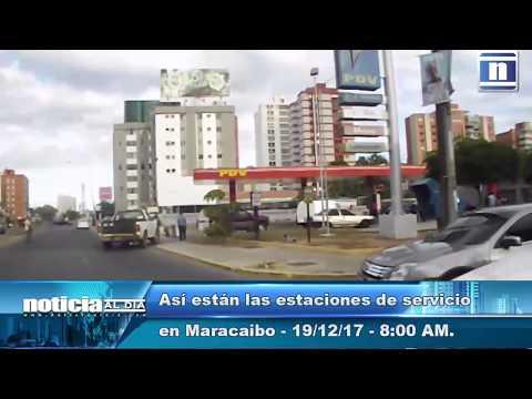 Colas por suministro de gasolina se extienden hasta nueve cuadras | Maracaibo