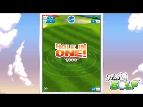Video of Flick Golf! Free