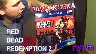 Red Dead Redemption 2 PS4 Pro Bundle | Распаковка | Новая ревизия CUH-7216B
