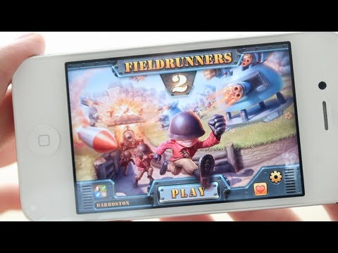 fieldrunners 2 ios review