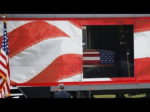 ΗΠΑ¨:  Στην τελευταία του κατοικία ο Τζορτζ Χ. Ουόκερ Μπους…