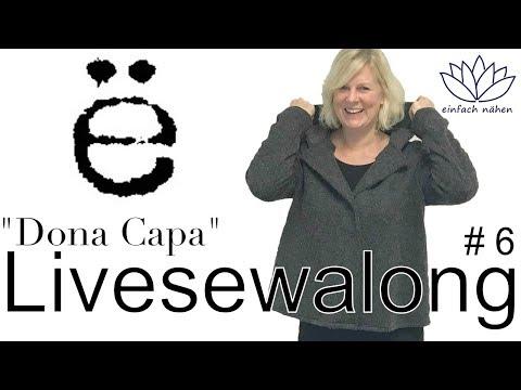 """Livesewalong   Mantel """"Dona Capa"""" - mit Ilka von Erbsünde und Anna von einfach nähen"""