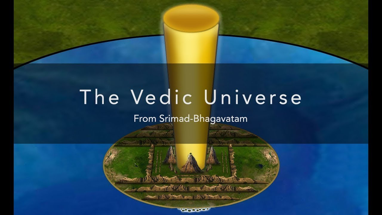 The Vedic universe - Bhu-mandala flat earth plane