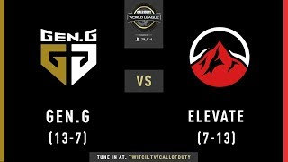 Gen.G vs Elevate | CWL Pro League 2019 | Cross-Division | Week 12 | Day 3