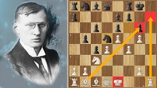 One of The Deepest Moves Ever Played in Chess | Breyer vs Esser (1917)