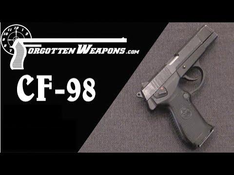China's CF-98 Modular Service Pistol