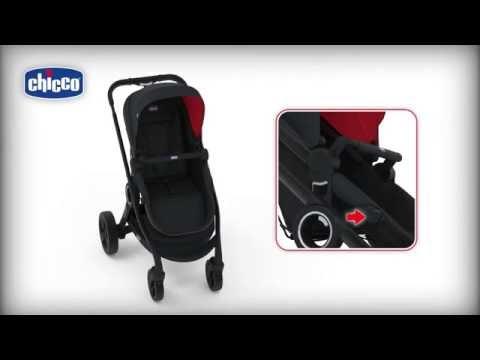 Chicco Urban Plus Buggy + Kinderwagen umsetzbare Sitzeinheit
