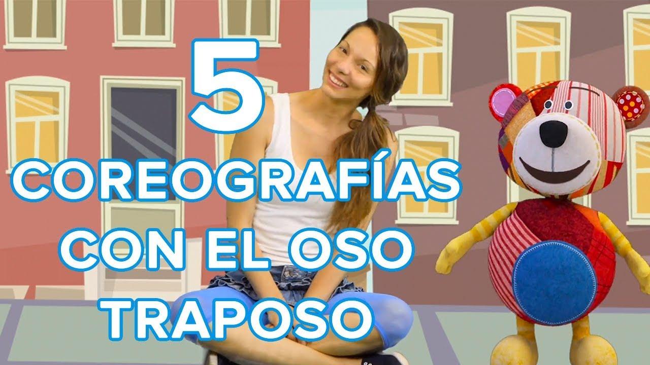 Coreografías sencillas para que los niños bailen con Traposo ????