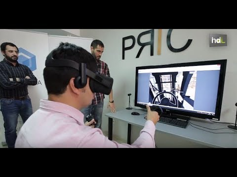Practica, realidad virtual para el entrenamiento