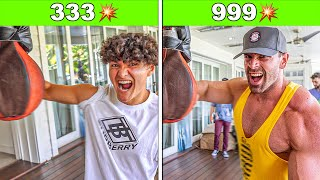 Who Can Punch The Hardest? - Challenge