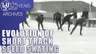 We may call this the start of modern ShortTrackSpeedSkating