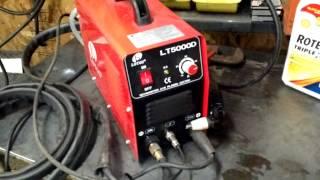 LOTOS LT5000D Dual Voltage (110/220VAC) 50Amp Plasma Cutter Review