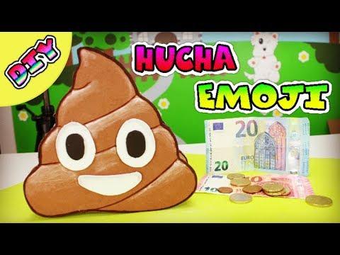 Alcancia o hucha de Emoji Popó Caquita | Manualidades faciles para niños