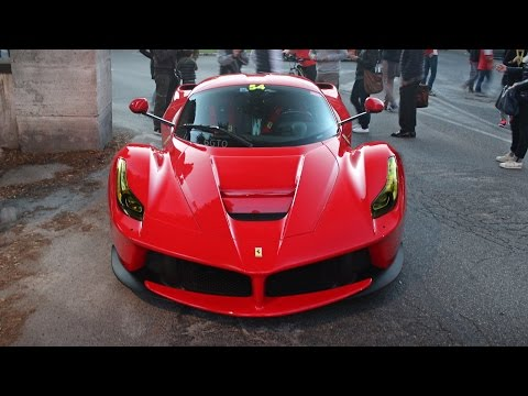 Swiss Laferrari Gets Yellow Headlights Reminds Us Of Ferrari