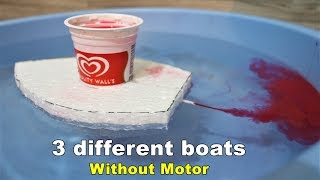 Motor boat investigatory project