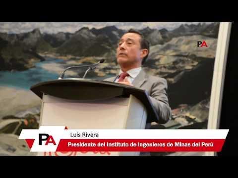 """PDAC 2019: Luis Rivera: """"Potencial Minero del Perú y su contribución económica para el 2050"""""""