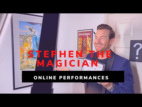 Stephen The Magician Video