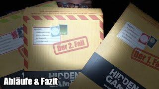Hidden Games - Tatort Krimispiel Teil 1, Teil 2 und Teil 3 - Escape Room Spiel