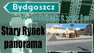 Stary Rynek Bydgoszcz - panorama, timelapse