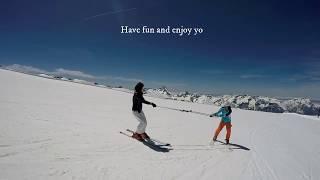 ski 360 turn exercise, backward skiing, for advanced skier 2018