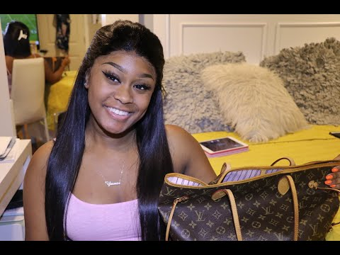 What's In My Purse / Louis Vuitton Neverfull MM Rose Ballerine Review