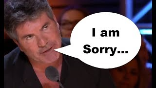 Simon Cowell APOLOGIZES For His MISTAKE? NEVER SEEN BEFORE!