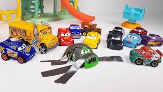 Disney Cars 3 Toys Mini Racers Chick Hicks Bully Everyone and Baby Miss Fritter Mcqueen Adventure