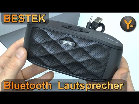 Review: Bestek Bluetooth Multimedia Lautsprecher / USB / microSD / 3,5mm Audio / FM Radio / NFC