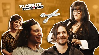 We swap our HAIR! - 10 Minute Power Hour