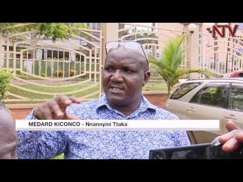 Medard Kiconco avuddeyo, eby'okusengula abantu e Lusanja abyegaanye