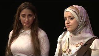 On wearing the hijab   Narjes Jaafar and Sally Beydoun   TEDxLAU
