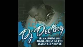 Dj Destiny   2 Hour Old School Latin Freestyle Mix (Recorded Live)