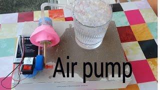 How to make an air pump with a plastic bottle (कैसे एक हवाई पंप बनाने के लिए)