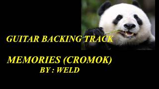 Memories (Cromok) guitar backing track by WELD