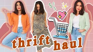 HUGE THRIFT HAUL (cute Dresses, Fall Trends + More!) ♡