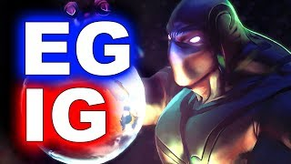 EG vs IG - AMAZING PLAYS - THE INTERNATIONAL 8 DOTA 2 #TI8