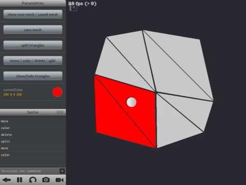 Manual 2d mesh creator (v2 update) - Codea
